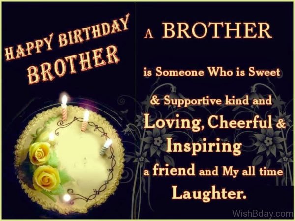 A Brother Is Someone who Is Sweet