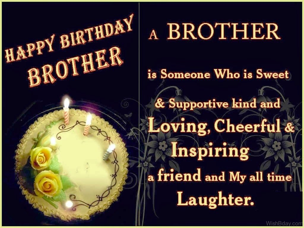 41 Birthday Wishes For Brother