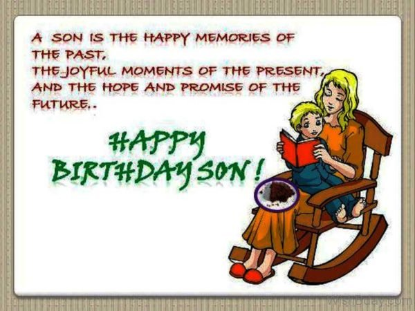 A Son Is The Happy Memories Of The Past 1