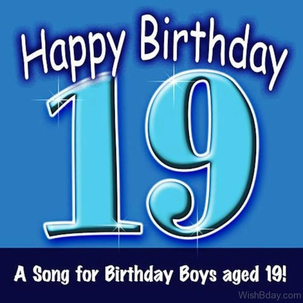 A Song For Birthday Boys Aged Nineteen 1