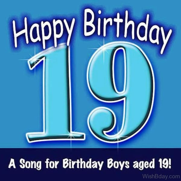 A Song For Birthday Boys Aged Nineteen 2