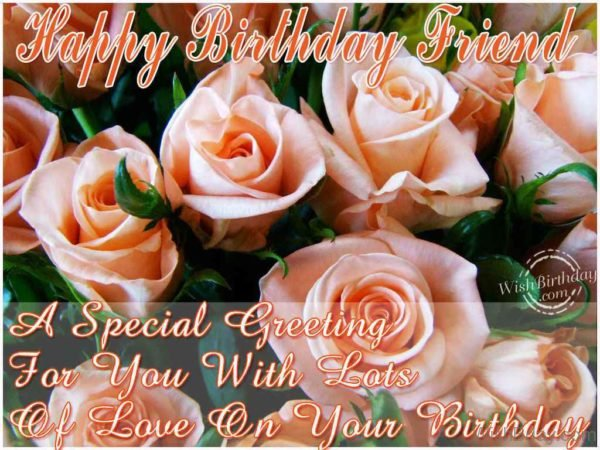 A Special Greeting For You With Lots Of Love On Your Birthday