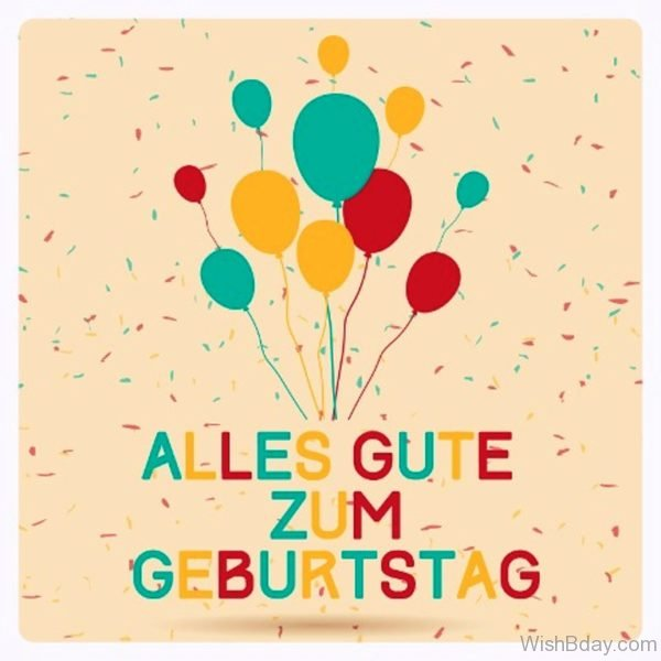 Alles Gute Zum Geburtstag Happy Birthday Picture