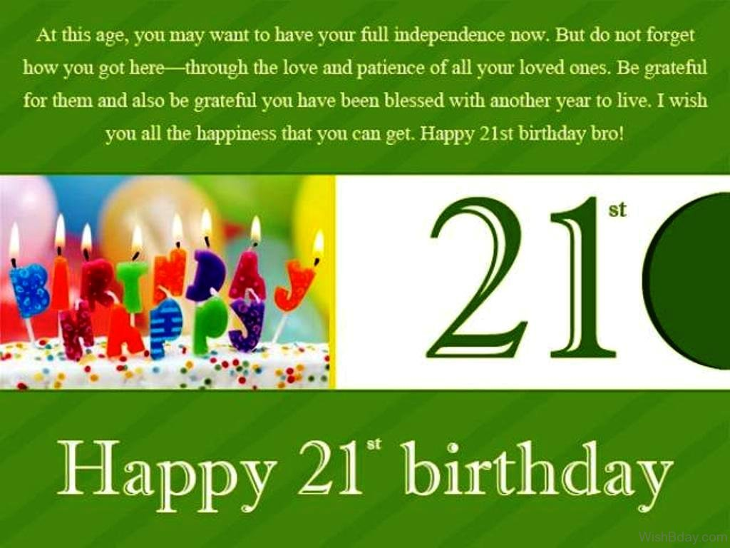 Quotes 21St Birthday 36 21St Birthday Wishes
