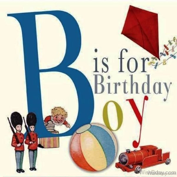 B For Birthday Boy