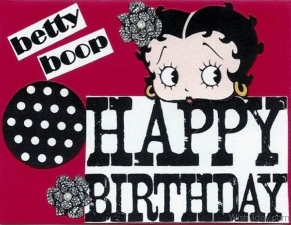 Betty Boop Happy Birthday