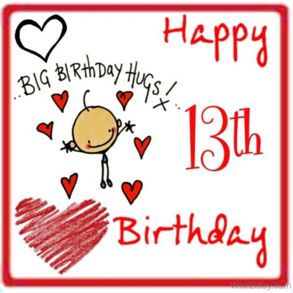 Big Birthdays Hugs Happy Birthday