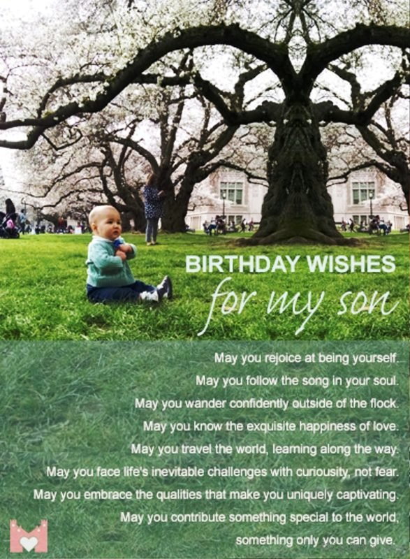 Birthday Wishes For My Son