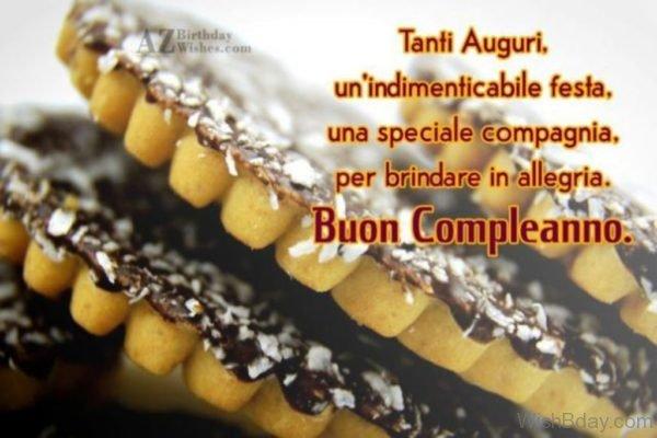 Birthday Wishes In Italian Language