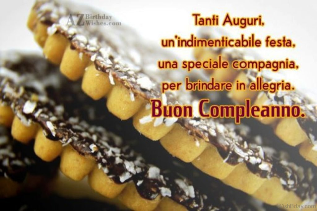 20 Italian Birthday Wishes – Birthday Greetings in Italian