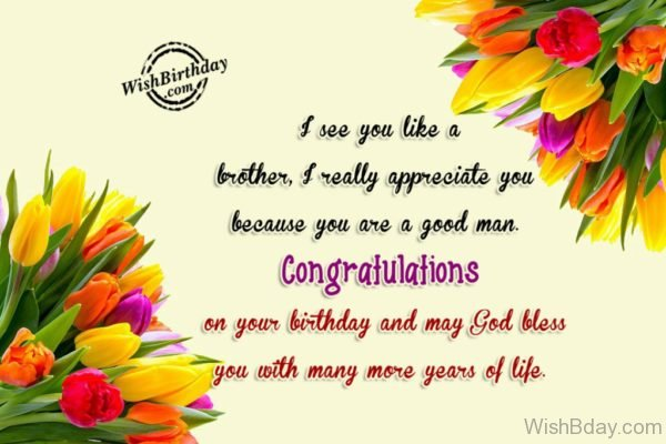 Congratulation On Your Birthday