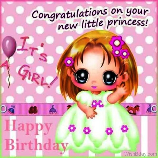 Congratulation On Your New Little Princess