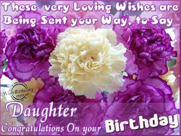 Daughter Congratulation On Your Birthday