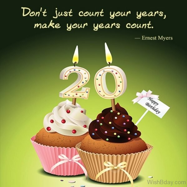 Dont Just Count Your YEars