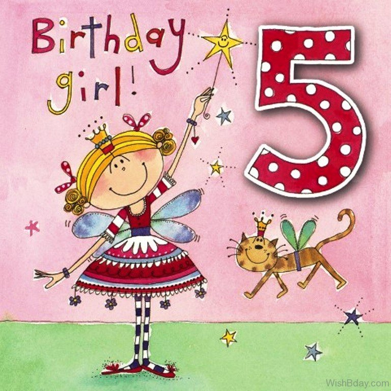 Happy 5th Birthday Quotes For Daughter: 52 5th Birthday Wishes