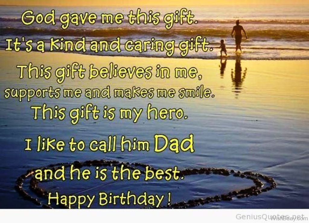 Birthday Wishes For Father In Heaven ~ Birthday wishes for dad in heaven