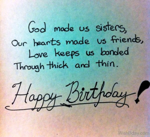 God Made Us Sister 1