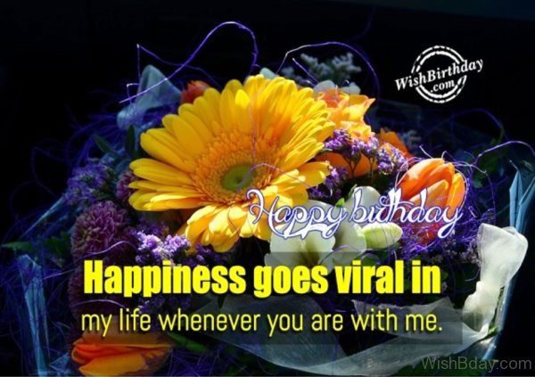 Happiness Goes Viral In My Life