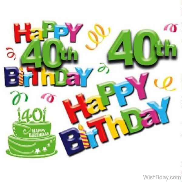 Happt Forty Birthday