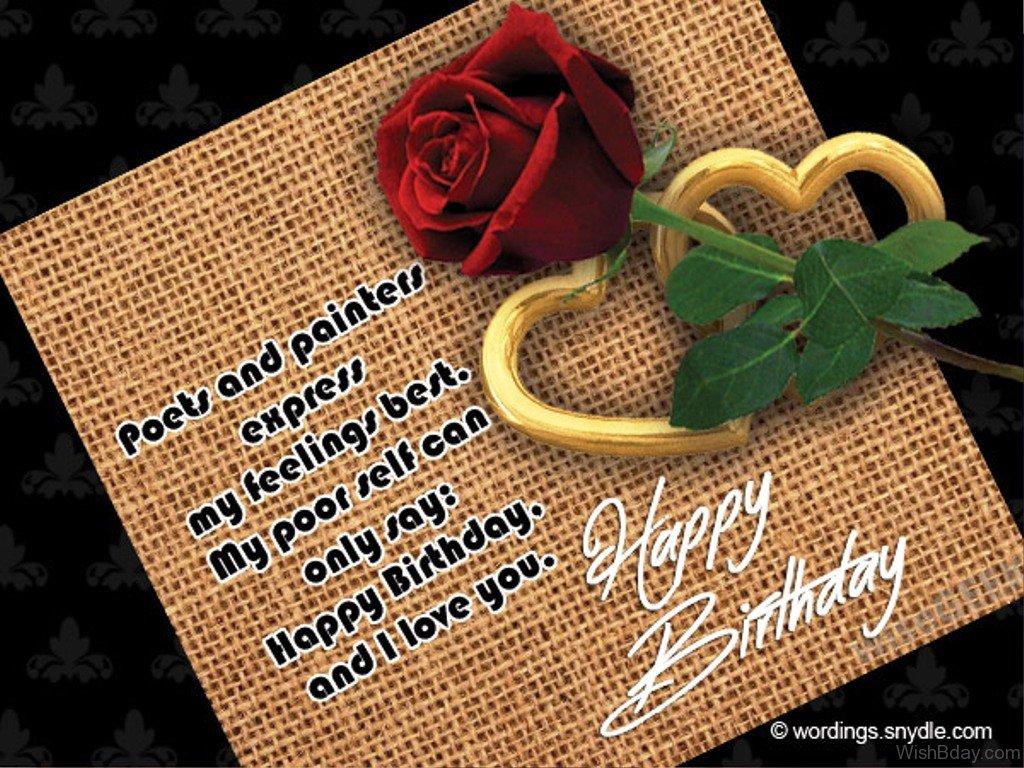 19 romantic birthday wishes happy birthday and i love you kristyandbryce Choice Image