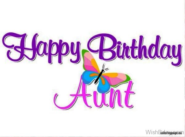 Happy Birthday Aunt Dear