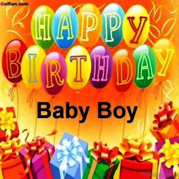 Happy Birthday Baby Boy 1