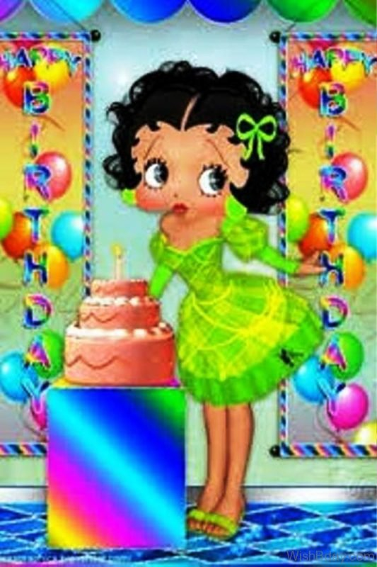 Happy Birthday Betty Boop 1