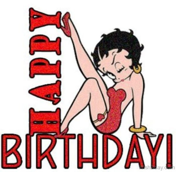 Happy Birthday Betty Boop Image