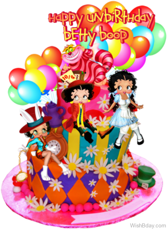 Happy Birthday Betty Boop Nice Image