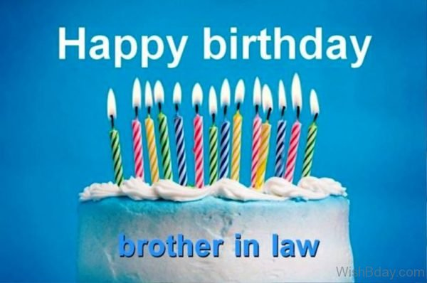 Happy Birthday Brother In Law Dear