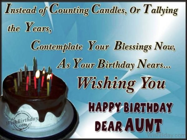 Happy Birthday Caring Aunt