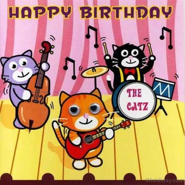 Happy Birthday Cats Image