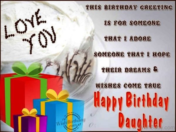 Happy Birthday Daughter 3