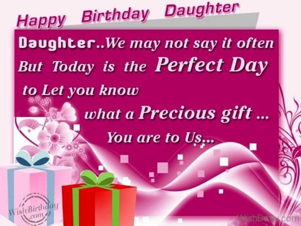 Happy Birthday Daughter Happy Birthday