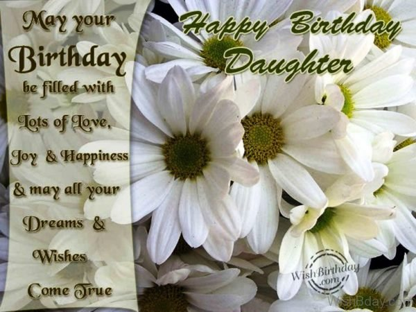 Happy Birthday Daughter Image 1