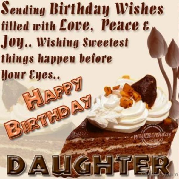 Happy Birthday Daughter Image