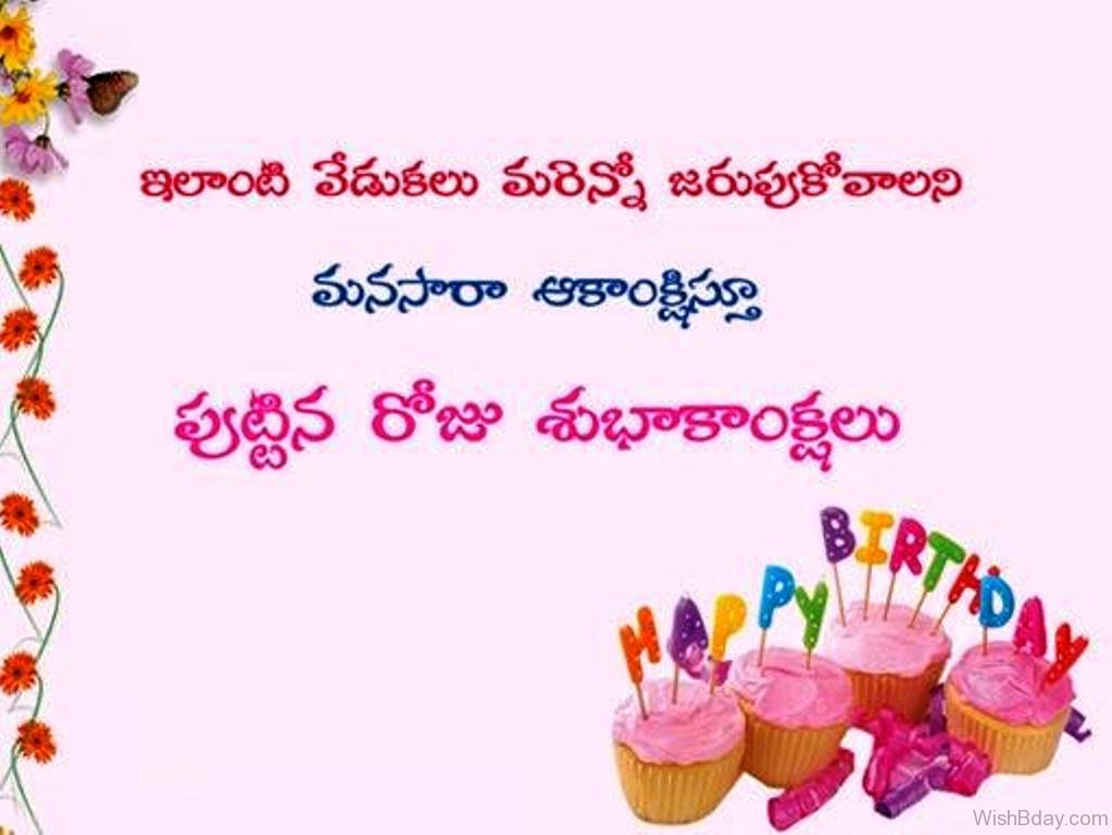 26 birthday wishes in telugu happy birthday dear 30 m4hsunfo