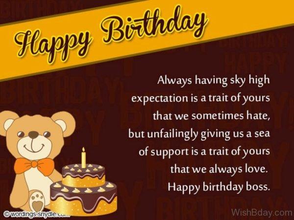 Happy Birthday Dear Boss