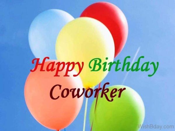 Happy Birthday Dear Coworker