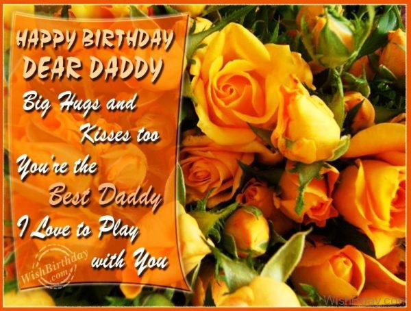 Happy Birthday Dear Daddy