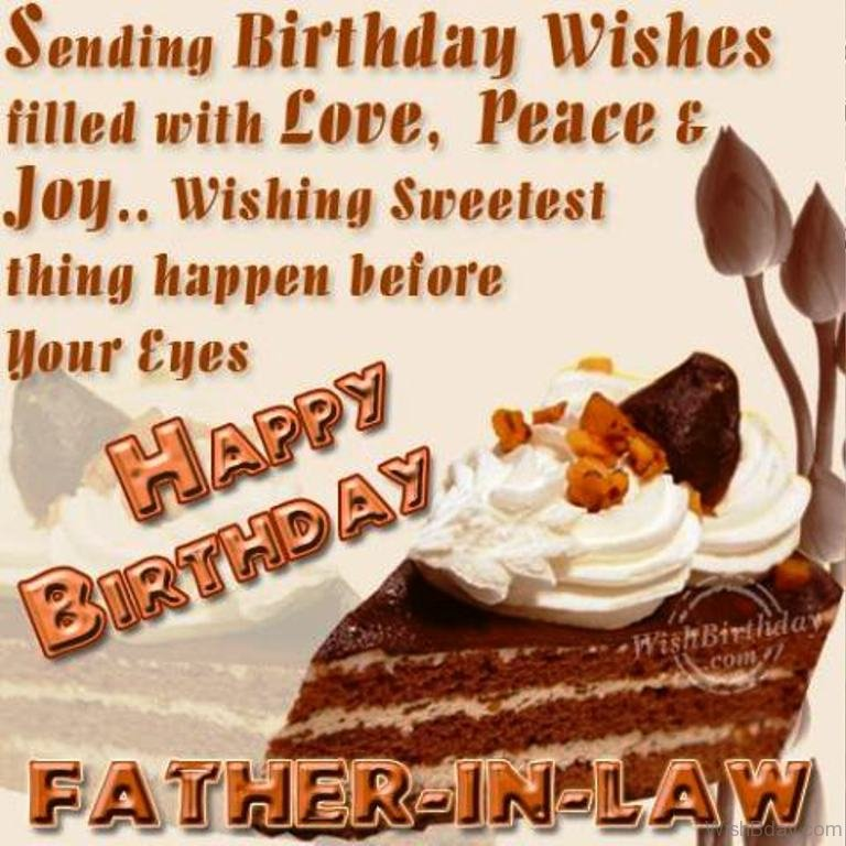 42 Father In Law Birthday Wishes – Happy Birthday Greetings to Father