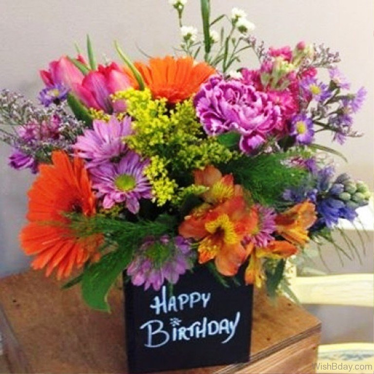 84 Birthday Wishes With Flowers