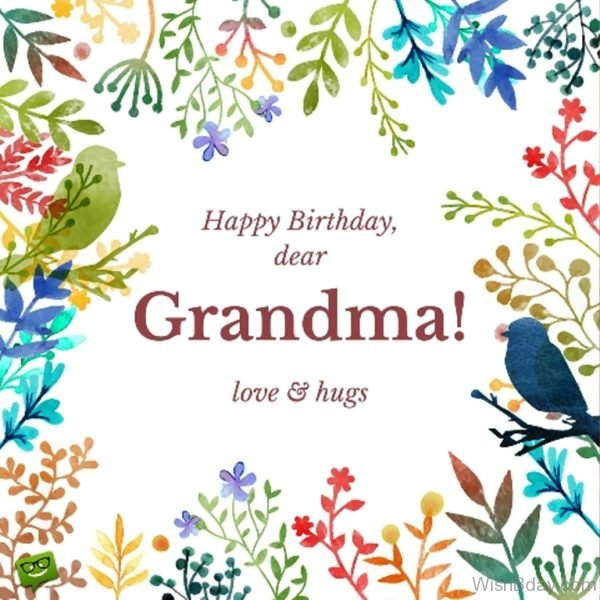Happy Birthday Dear Grandma