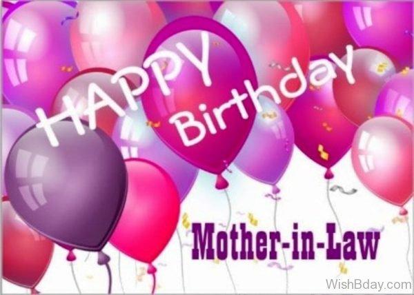 Happy Birthday Dear Mother In Law