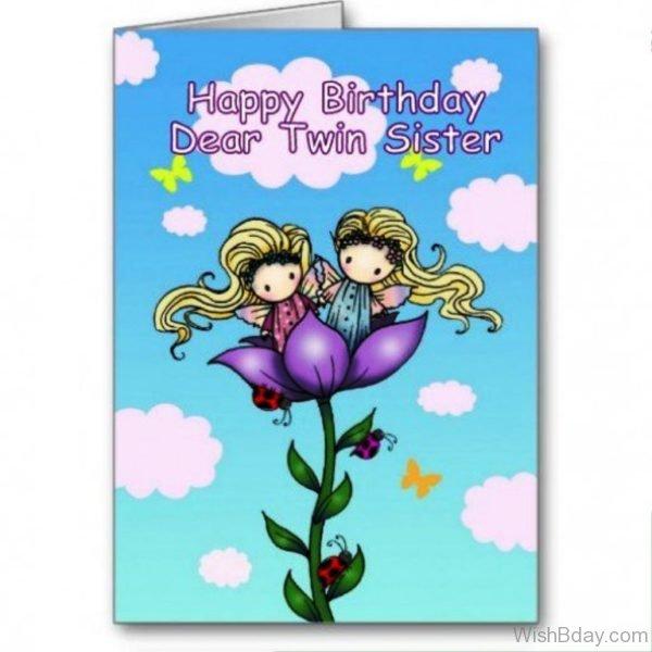 Happy Birthday Dear Twins
