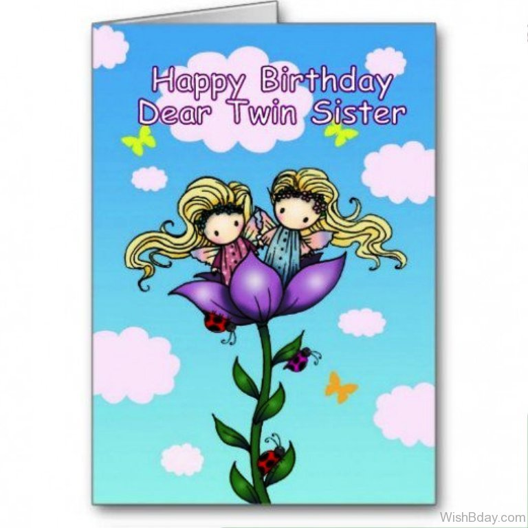 21 birthday wishes for twins happy birthday dear twins m4hsunfo Choice Image