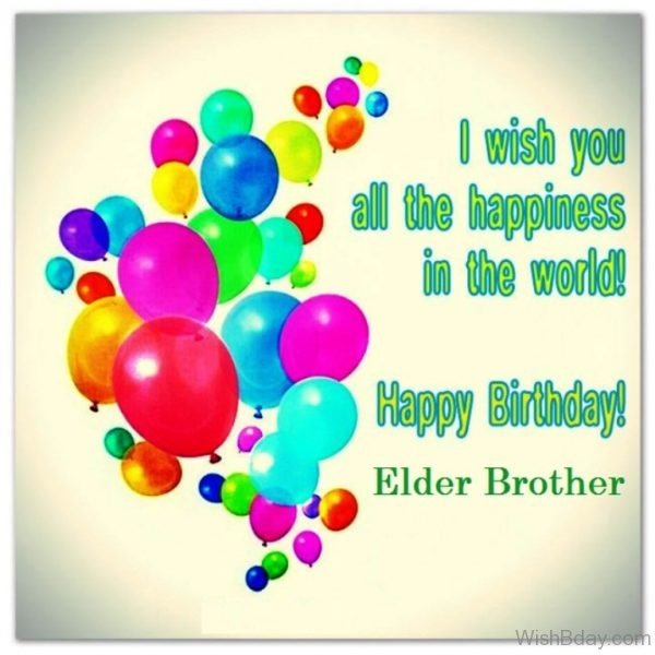 Happy Birthday Elder