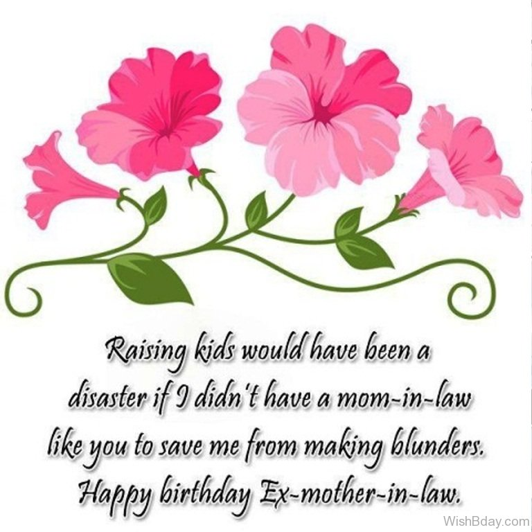 Happy Birthday Ex Mother In Law