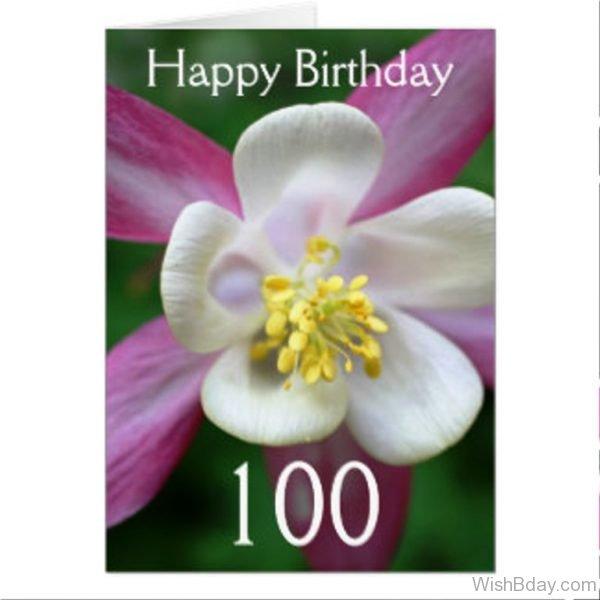 Happy Birthday Flower 1
