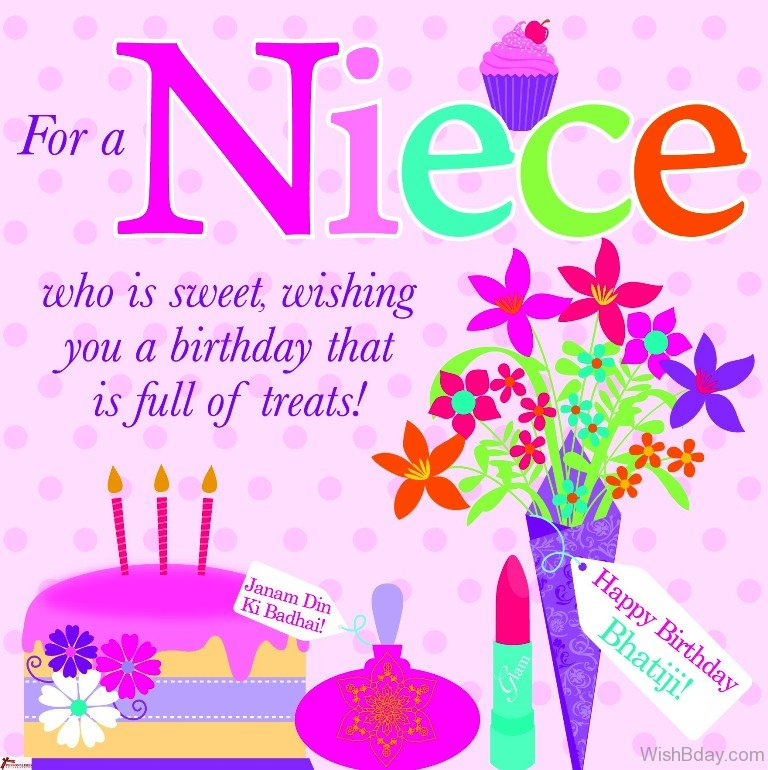 Happy Birthday Niece Image ~ Birthday wishes for niece